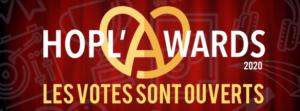 Hopl'awards 2020 Agenda Culturel