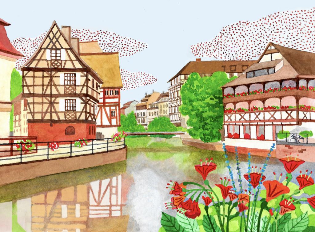 Petite France - Merveilleuse Histoire de Strasbourg
