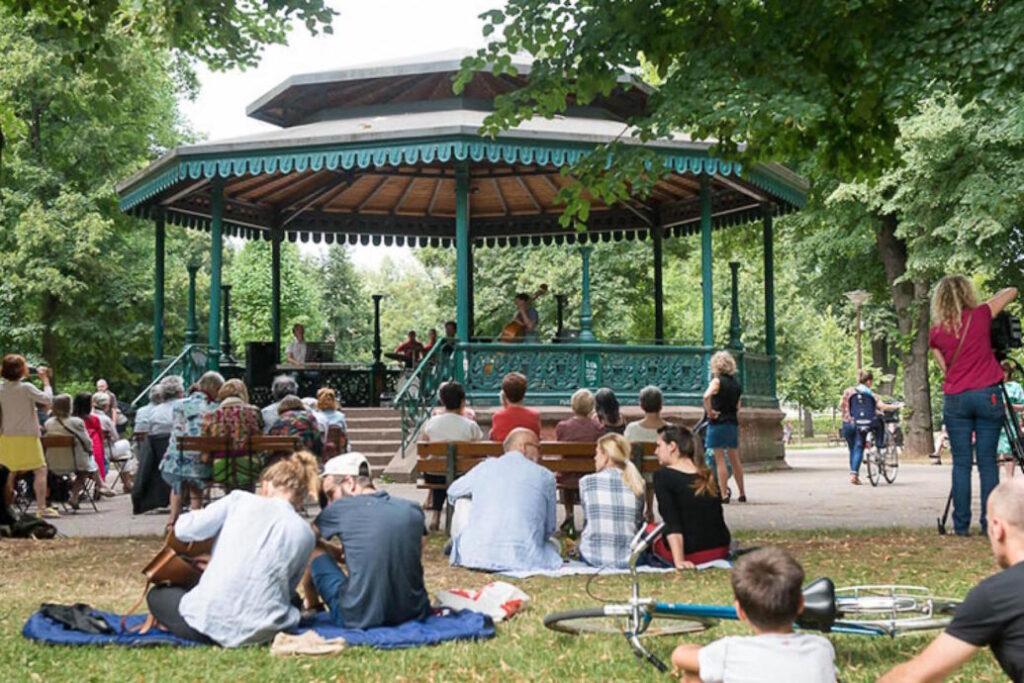 parc Starsbourg musique